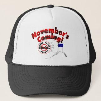 Alaska Anti ObamaCare – November's Coming! Trucker Hat