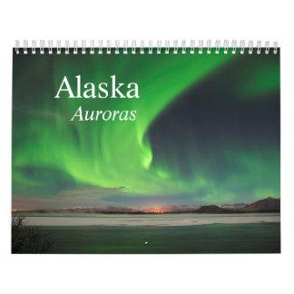 Alaska Aurora Calendar