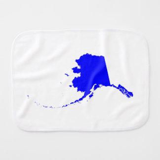 Alaska azul paños de bebé