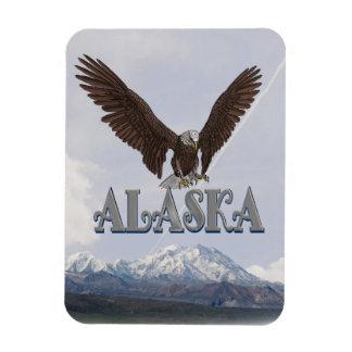 Alaska Bald Eagle Mt McKinley Flexible Magnet