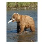 Alaska Bear Personalized Letterhead