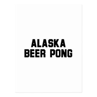 Alaska Beer Pong Postcards