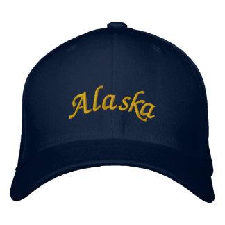 Alaska bordó el gorra gorro bordado