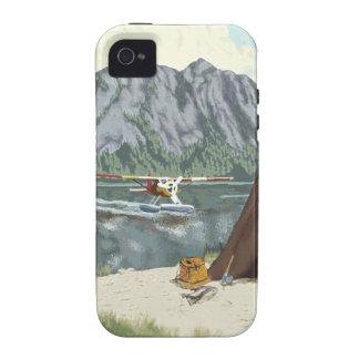 Alaska Bush Plane And Fishing Travel iPhone 4 Case
