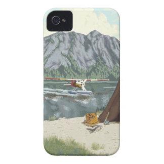 Alaska Bush Plane And Fishing Travel iPhone 4 Covers