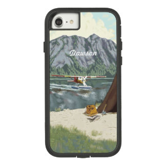 Alaska Bush Plane And Fishing Travel Case-Mate Tough Extreme iPhone 8/7 Case