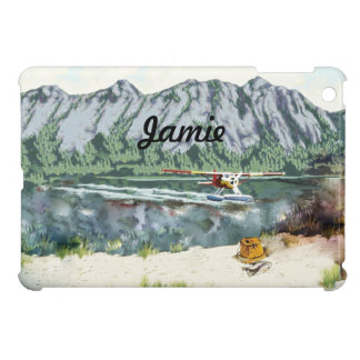 Alaska Bush Plane And Fishing Travel Cover For The iPad Mini