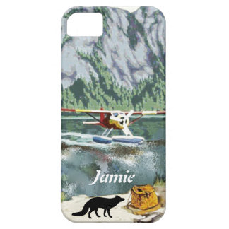 Alaska Bush Plane And Fishing Travel iPhone SE/5/5s Case