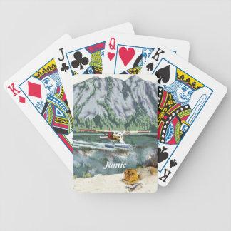 Alaska Bush Plane And Fishing Travel Bicycle Playing Cards