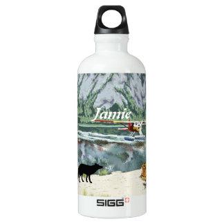 Alaska Bush Plane And Fishing Travel SIGG Traveler 0.6L Water Bottle
