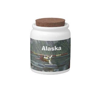 Alaska Bush Plane Souvenirs Candy Jars