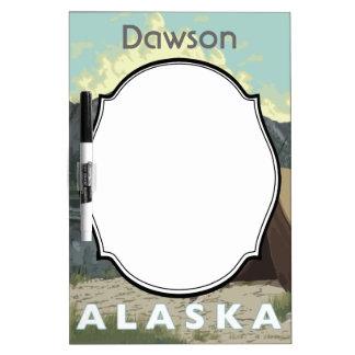 Alaska Bush Plane Souvenirs Dry Erase Board