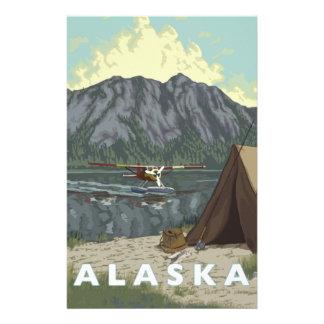 Alaska Bush Plane Souvenirs Stationery