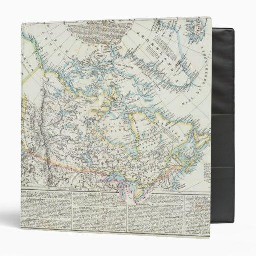 "Alaska, Canadá, Groenlandia Carpeta 1 1/2"""