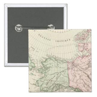 Alaska, Canada, Russia Pinback Button