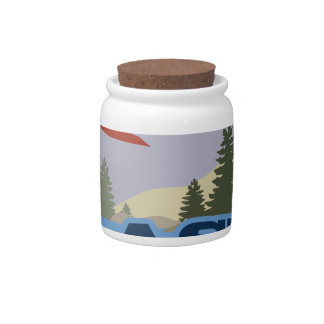 Alaska Candy Jars