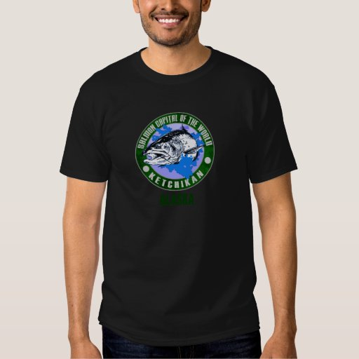 Alaska - capital de color salmón del mundo poleras