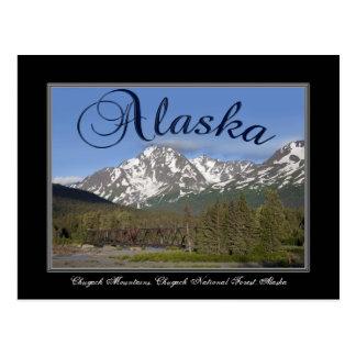 Alaska Chugach Mountain Post Card