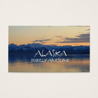 Alaska Coast - Purely Awesome Business Card