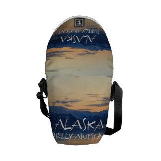 Alaska Coast - Purely Awesome Courier Bag