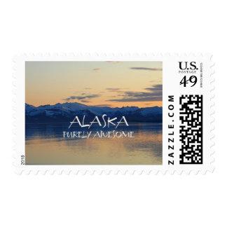 Alaska Coast - Purely Awesome Postage Stamp