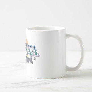 Alaska Coffee Cup Classic White Coffee Mug