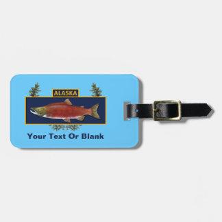 Alaska Combat Fisherman Badge Bag Tag