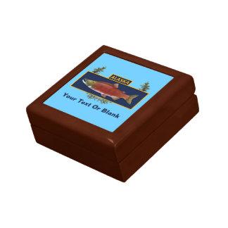 Alaska Combat Fisherman Badge Keepsake Box