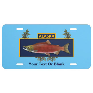Funny fishing license plates zazzle for State of alaska fishing license