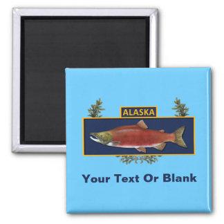 Alaska Combat Fisherman Badge Refrigerator Magnet