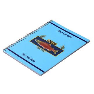 Alaska Combat Fisherman Badge Spiral Notebook