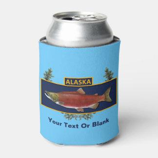 Alaska Combat Fisherman Badge Can Cooler