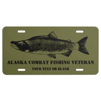 Alaska license plates zazzle for Alaska fishing license