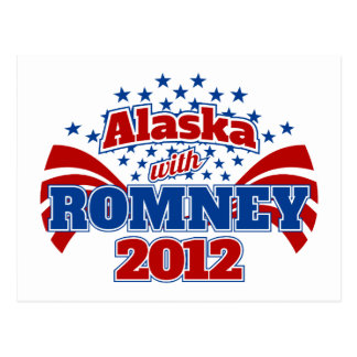 Alaska con Romney 2012 Postal