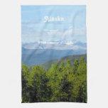 Alaska Countryside Towel
