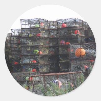 Alaska crab pots stickers