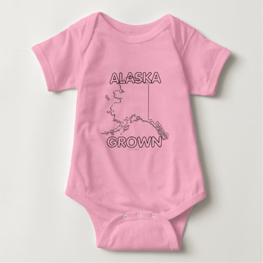 Alaska crecida camiseta