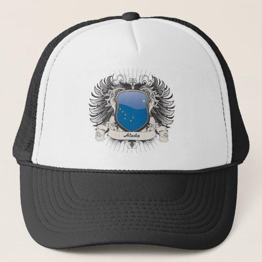 Alaska Crest Trucker Hat