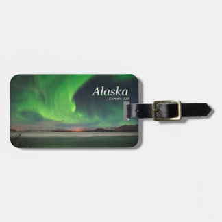 Alaska Curtain Call Luggage Tag