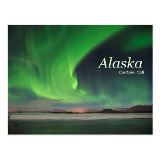 Alaska Curtain Call Postcard