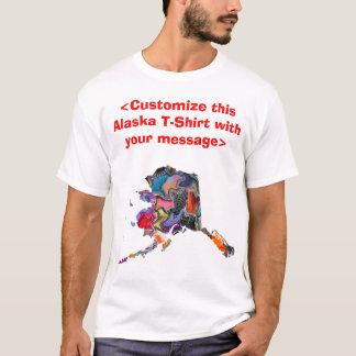 Alaska Customize this Colorful Shirt - Customize