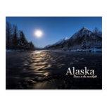 Alaska Dance in the Moonlight Post Cards