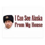 Alaska de mi casa tarjeta postal