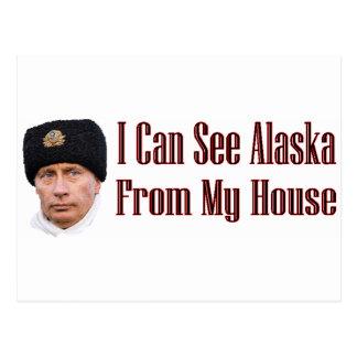 Alaska de mi casa tarjetas postales