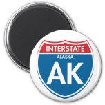 Alaska de un estado a otro AK Iman