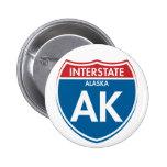 Alaska de un estado a otro AK Pins