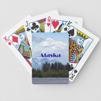 Alaska: Denali, forest, river, mountains 1 Bicycle Playing Cards
