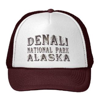 Alaska Denali National Park Baseball Cap Trucker Hat