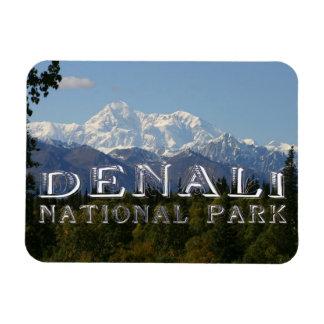 Alaska Denali National Park Mount McKinley Magnet