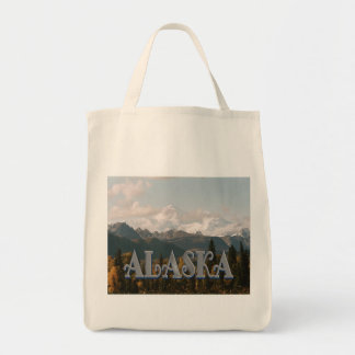 Alaska Denali National Park Mount McKinley Tote Bag